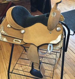 "Circle J 13"" Youth Show Saddle - FQHB"