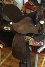 "Nash Saddlery Nash Skyler Barrel Saddle, FQHB, 16"""