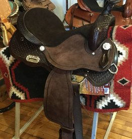 Nash Saddlery Nash Skyler Barrel Saddle, FQHB, 16""