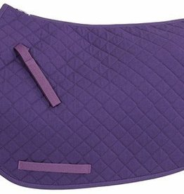 Tuffrider TuffRider Basic Dressage Saddle Pad Purple