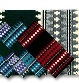 Mayatex Mayatex Catalina Saddle Blanket Black, Cream, Charcoal