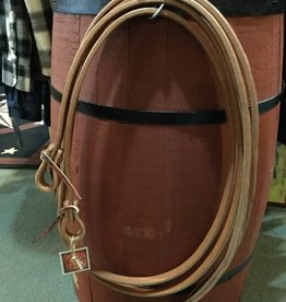 "Circle L Circle L Weighted Split Leather Reins - 3/4"" x 8'"