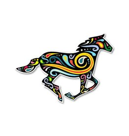 GT Reid Decal - Running Horse Paisley Swirl, Mini