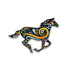 GT Reid Decal - Running Horse Paisley Swirl