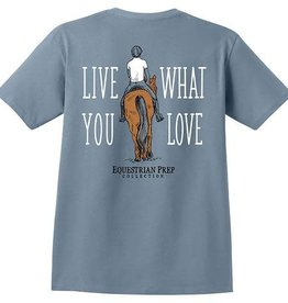 Stirrups Adult T-Shirt - Live What You Love