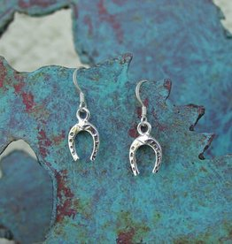Baron Silver Earrings - Horseshoe