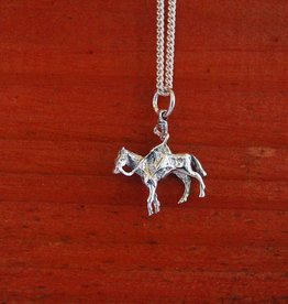 Baron Silver Necklace - Sidesaddle Woman Riding