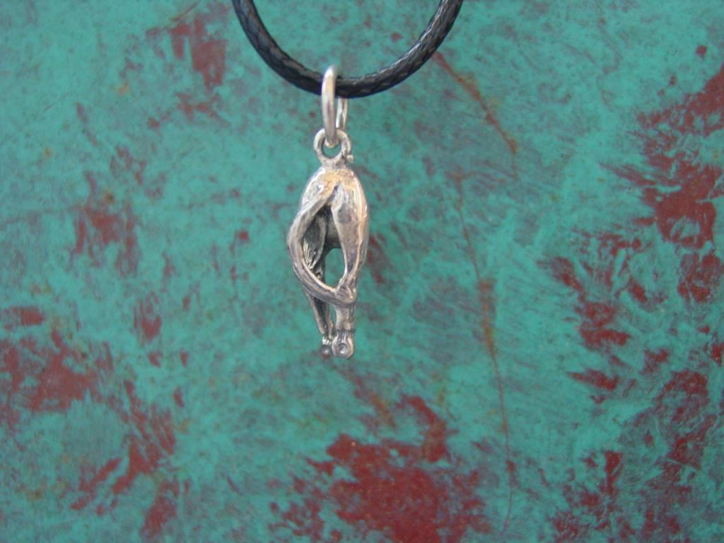 Baron Silver Necklace - Horse Hip