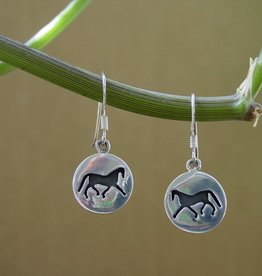 Baron Silver Earrings - Silhouette