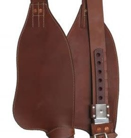 Showman Smooth Leather Replacement Fenders - Youth Saddle