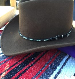 Rockmount Rockmount Cowboy Dream Brown Crush Felt Hat  XL