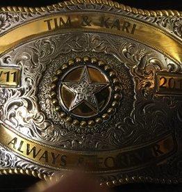 Belt Buckle - Custom Engraved Buckle Engraving Service
