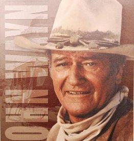 """WEX Metal Sign - John Wayne 12.5"""" x 16"""""""