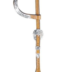 Alamo Double Flat Ear Show Headstall