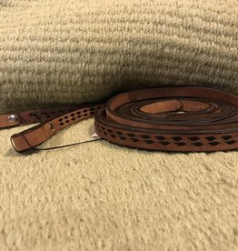 Alamo Alamo Slip Reins Toasted with Black Buckstitch