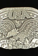 Nocona Belt Buckle - Eagle and Fire