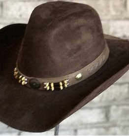 Rockmount Canyon Suede Cloth Hat