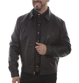 Scully Leather Men's Scully Black Lamb Leather Jacket