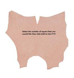 Weaver Double Shoulder Bulk Leather Natural Hide - Sold by SQFT