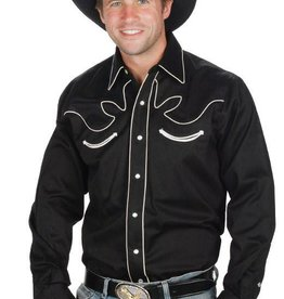 WEX Men's Retro Western Shirt, Black XXXL - Reg $49.95 @ 50% OFF!