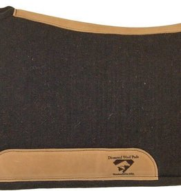 "Diamond Wool All Wool (100%) Contoured Tough Ranch Pad - 32""x34""x1"""