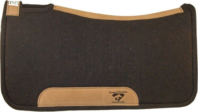 "Diamond Wool All Wool (100%) Contoured Tough Ranch Pad - 32""x34""x1"""