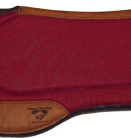 "Diamond Wool Square Contoured Endurance Ranch Pad - 33""x30""x1/2"""