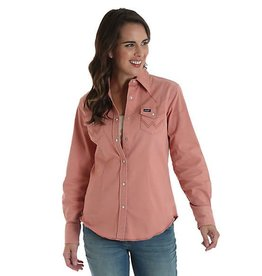Wrangler Women's Wrangler Old Rose Snap Shirt