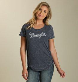 Wrangler Wrangler SS Crewneck Logo T-Shirt