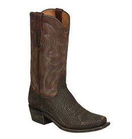 Lucchese Bootmaker Men's Lucchese Sanded Shark Western Boots (Reg $439.00 NOW $100 OFF!)