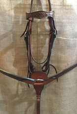 Circle L Circle L Hand Made Leather Tack Set w/Gator Overlay - Horse Size (Reg $199.95 now $30 OFF!)