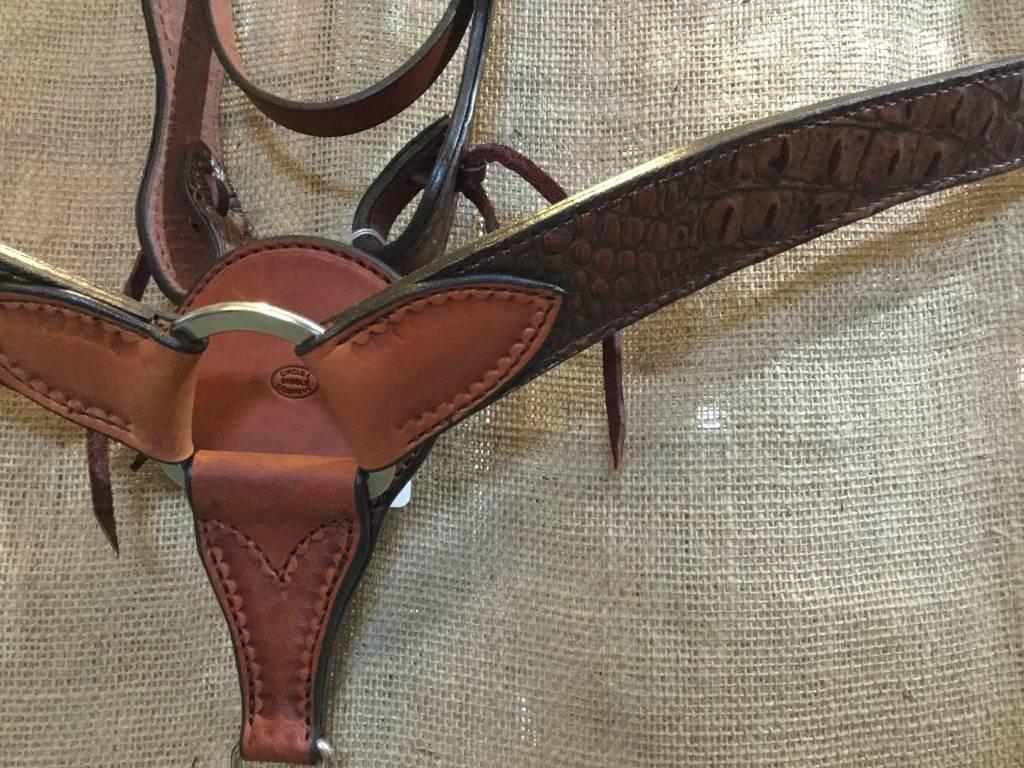 Circle L Circle L Exotic Layover Tack Set - Horse Size