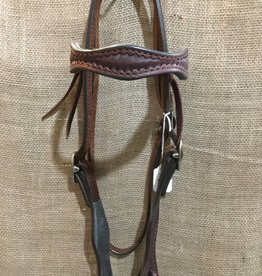Circle L Circle L Scalloped Headstall - Horse Size