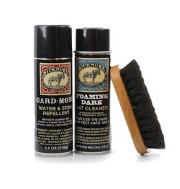Bickmore Bickmore Dark Hat Care Kit, Contains: Gard-More Water Repellent, Ultra-X Dark Cleaner & Soft Dark Bristled Hat Brush