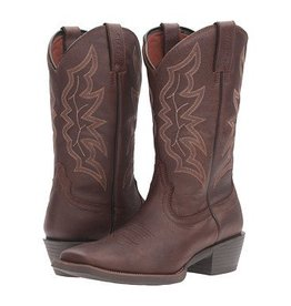 Justin Western Men's Justin All Star Chocolate Western Boot