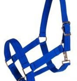 Triple E 3-Ply Poly Web Draft Halter Royal Small