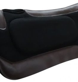 "Showman Showman Built Up Black Felt Saddle Pad 31"" x 31"""