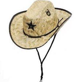 WEX Youth Palm Straw Sherriff Hat