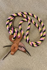 Lamprey Nylon Game Reins w/Slobbers - Assorted Colors