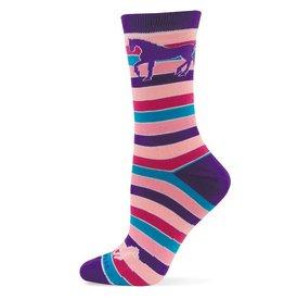 GT Reid Children's Socks - Bright Strips