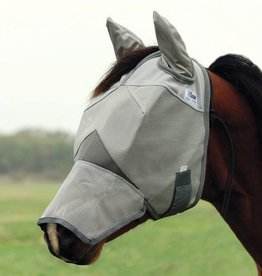 Cashel Crusader Fly Mask Long w/Ears - Draft