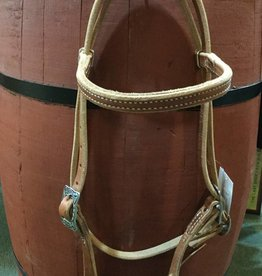 Circle L Circle L Working Browband Headstall w/ Wickett & Craig Buckles