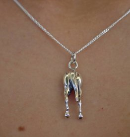 Baron Silver Necklace - Horse Hip Pendant