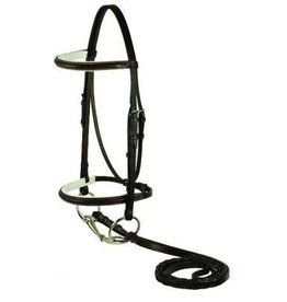 Smith Worthington Raised Black/White Bridle