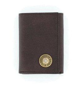Nocona Wallet - Nocona Brown Bullet Tri-Fold