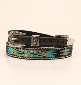 """M & F Western Products Hat Band - 5/8"""" Multi-Colored Aztec Print"""