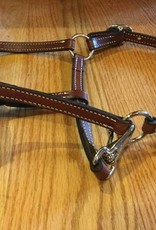 Lamprey Double Stitched Leather Pony Halter