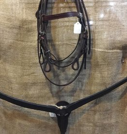 Circle L Plain Leather Tack Set - Pony