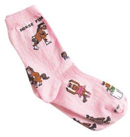 GT Reid Children's Sock - Horse Fun