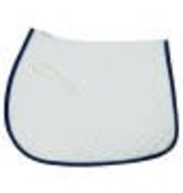 Tuffrider Tuffrider Basic All Purpose Saddle Pad with Trim and Pipping